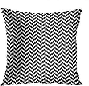 Houlor Throw Pillow Cover 20 X 20 Inches Art Deco Pattern Repeating Pattern 1920S 1930S Print Pillowcase Living Room Bedroom Dorm Car Hidden Zipper Home Decor Home Style Cushion Case