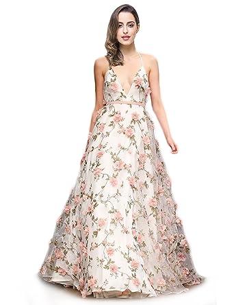 Darlingu Womens 2018 3d Floral Print Homecoming Dress Formal Prom