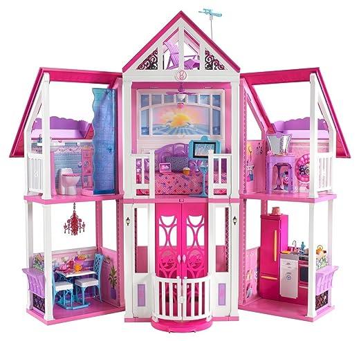 216 opinioni per Barbie W3141 La casa di Malibu