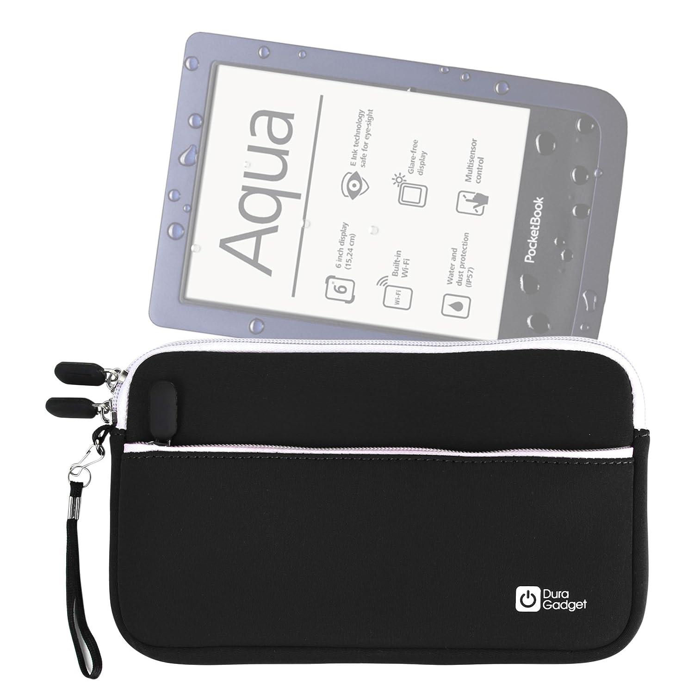Amazon com: DURAGADGET Pocketbook eReader Case - Jet Black Water