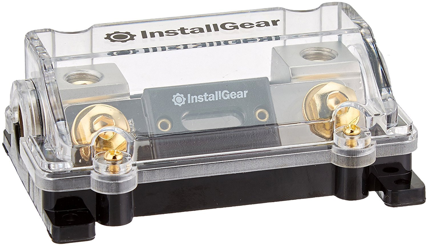 InstallGear 0//2//4 Gauge AWG In-Line ANL Fuse Holder with 300 Amp Fuse