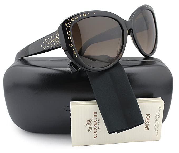 9c709148b2be Image Unavailable. Image not available for. Colour: COACH HC8162 L147 Sunglasses  Dark Tortoise w/Brown ...