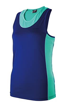 Head - Camiseta pádel top eclipse, talla s, color azul / verde: Amazon.es: Deportes y aire libre