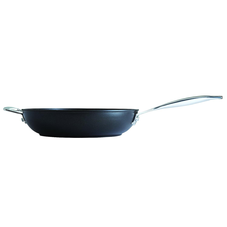 Le Creuset- Sartén Alta de Aluminio Forjado con Antiadherente, 30 cm, color Negro: Amazon.es: Hogar