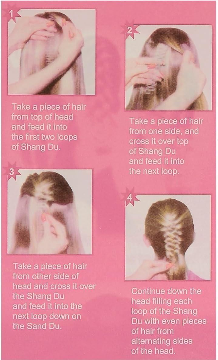 Mode 3 X Twist style Clip Stick Bun Maker tresse outil accessoires pour cheveux