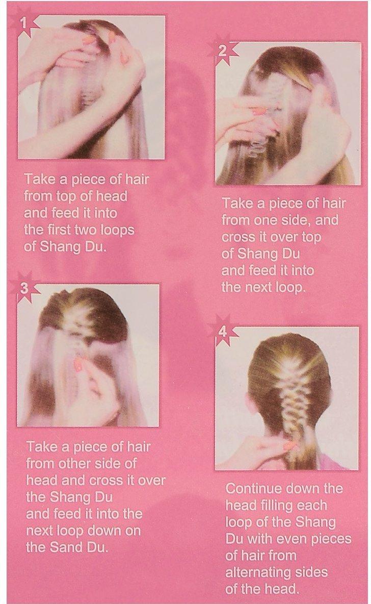 Amazon Opcc 5pcs Fashion French Hair Styling Clip Stick Bun