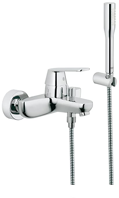 Grohe Eurosmart Cosmopolitan Single Lever Bath Shower Mixer Chrome ...