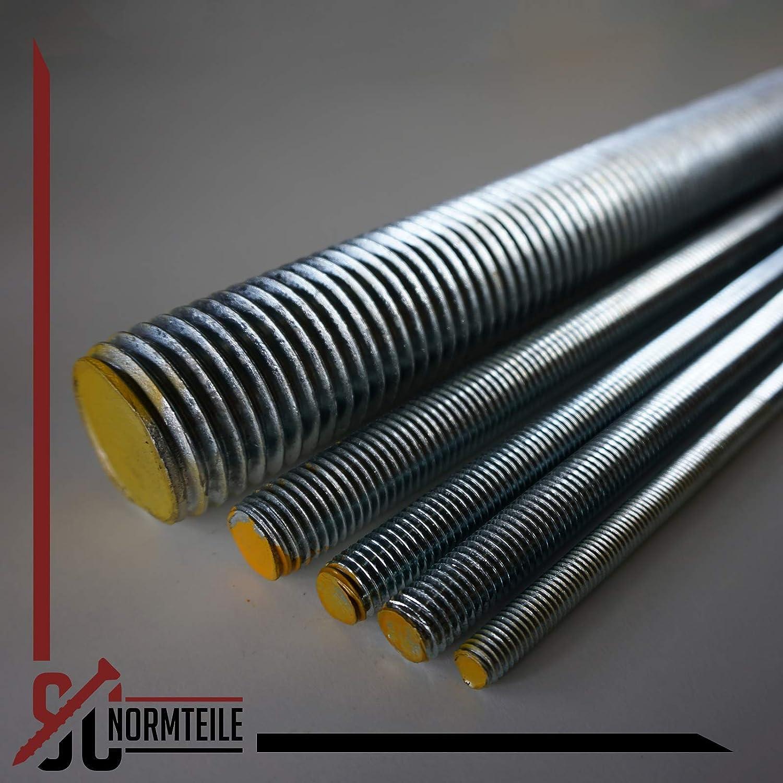 - DIN 976 // DIN 975 5 St/ück SC976 SC-Normteile M18 x 1000 mm - Gewindestange galvanisch verzinkt G/üte 8.8