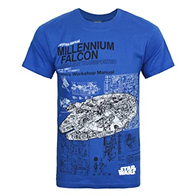 Official Star Wars Millennium Falcon 1977 T-Shirt