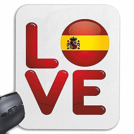 Mousepad alfombrilla de ratón AMO AMO ESPAÑA ESPAÑA AMO España ...