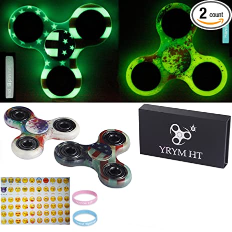 Fidget Spinner Glow In The Dark Hand Toys Premium Quality EDC Focus Toy For