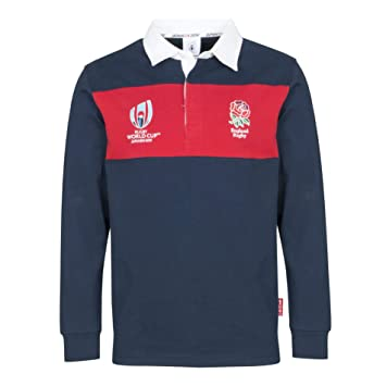 06099073ca5 Rugby World Cup 2019 England Rugby Classic Shirt: Amazon.co.uk ...