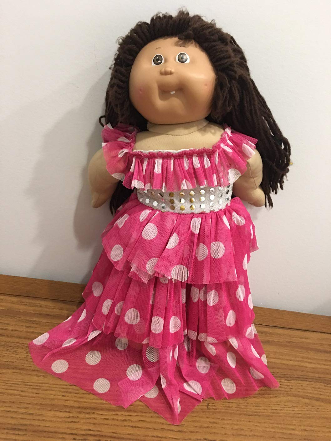 Cabbage Patch Doll Clothes Black Skirt No Doll