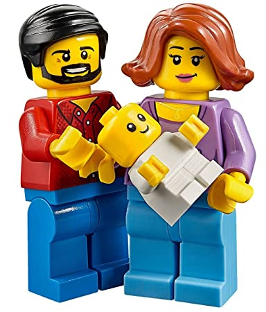 Amazon.com: LEGO Town City Fun in the Park Family of Minifigures ...