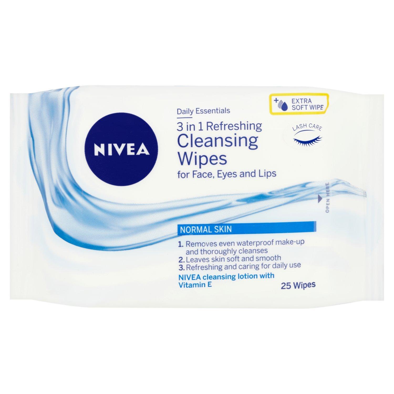 Nivea Visage, Salviette viso detergenti rinfrescanti, 6 x 25 pz. (150 salviette) Unilever 81121