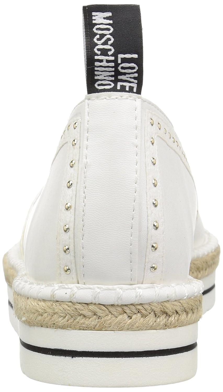 Love 39 Moschino Women's Ja10093g15ic0100 Sneaker B0778YDDJW 39 Love M EU (8 US) White e91593