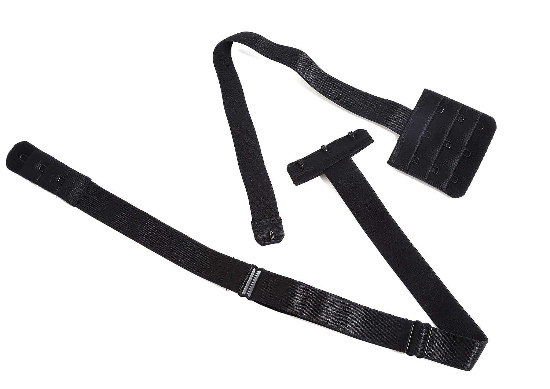 Yarbar Mujer Extensores de sujetador Espalda Baja Convertidor de sujetador Tirantes para Sujetador 3 Ganchos