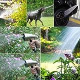 CNAMOY Garden Hose Nozzle Sprayer, 9 Adjustable