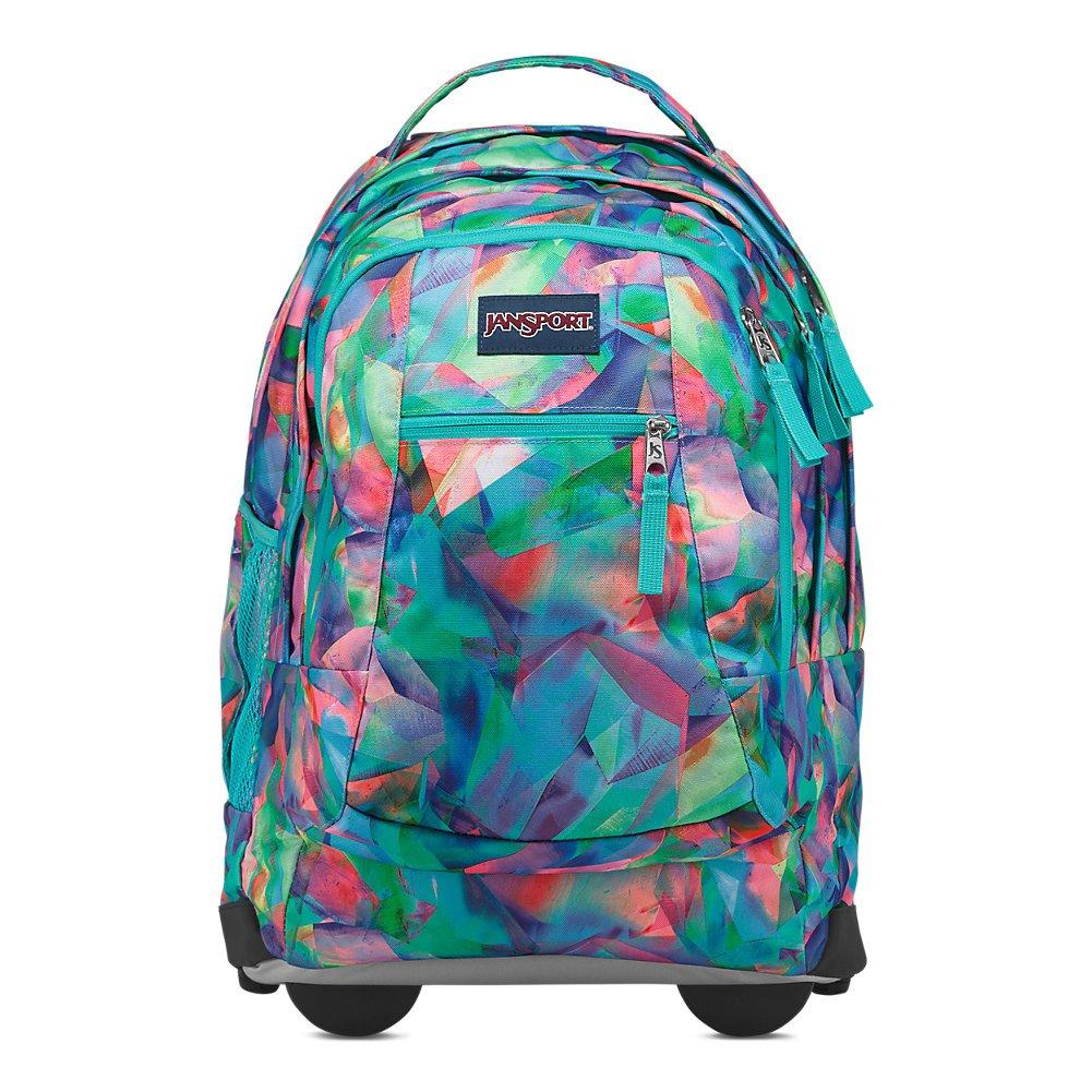 Jansport Driver 8 Rolling Laptop Backpack - Crystal Light