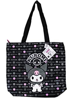 170ebe7578 Sanrio Kuromi Black and Pink Large Tote Bag Officially Licensed Hello Kitty  Product