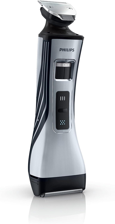 Philips QS6160/32 - Barbero StyleShaver sin cable con cabezal de afeitado y cabezal perfilador para recortar, modelar y afeitar. Apta para uso en mojado: Amazon.es: Salud y cuidado personal