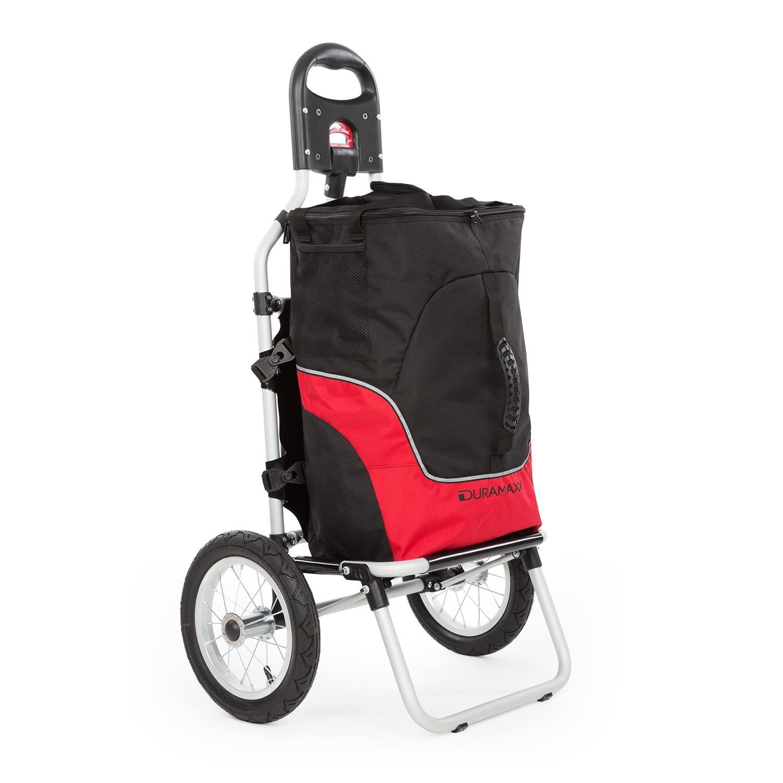 Duramaxx • Carry Red • Carrito remolque para bicicleta • Carga máx ...