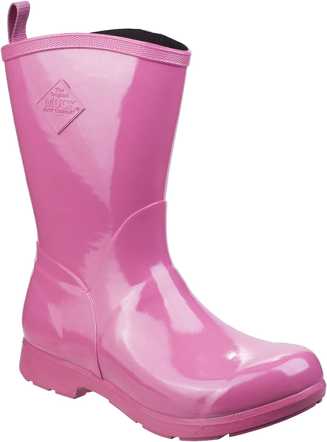 Muck Boots Bergen Mid Womens Wellies Red All Sizes