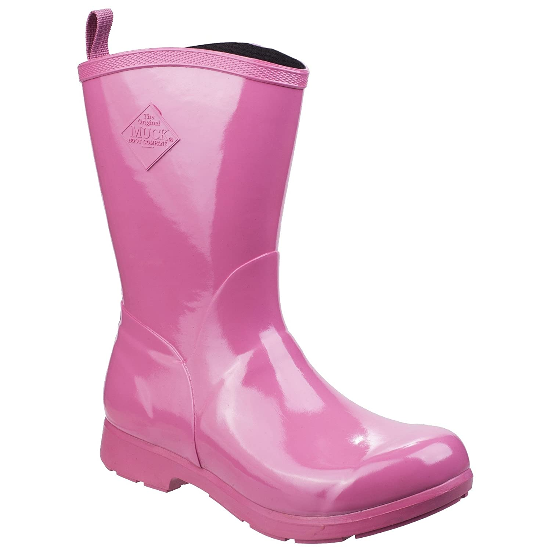 Muck Boot Womens/Ladies Bergen Mid Lightweight Rain Boots B07CQYYPZR 7 M US|Pink