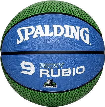 Spalding NBA Player 302247233 - Balón de baloncesto (Ricky Rubio ...