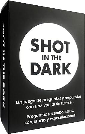 Shot in the Dark España (Juego de Mesa / Juego de Cartas) - Preguntas rocambolescas, conjeturas y especulaciones: Amazon.es: Juguetes y juegos