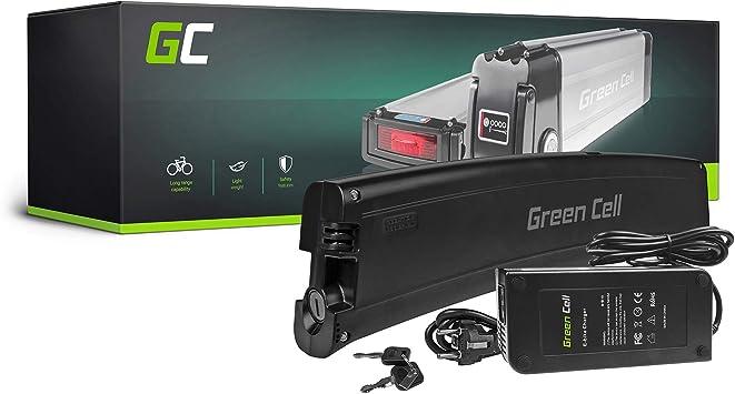 Green Cell EBIKE 36 V 7,8 Ah Batería Frame Battery Pedelec con Celdas Panasonic Li-Ion Bicicleta eléctrica para Cube Bikemanufaktur Bergamont: Amazon.es: Electrónica
