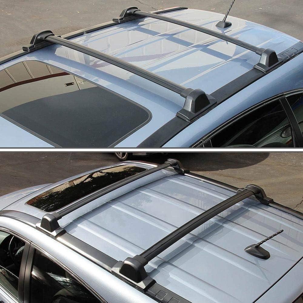 ROSY PIXEL Cross Bars Roof Rack for Honda CRV CR-V 2007 2008 2009 2010 2011 Top Roof Rails