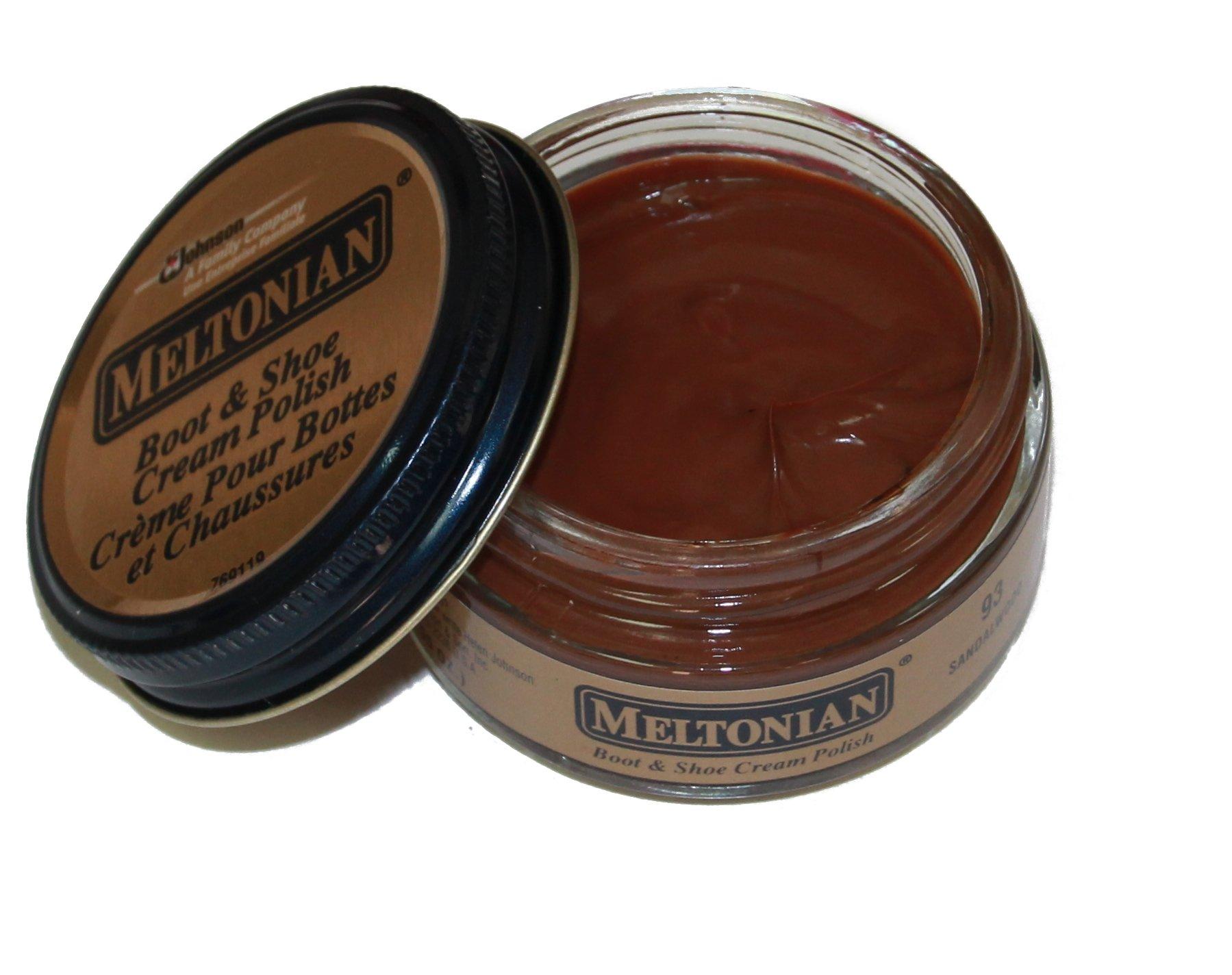Meltonian Shoe Cream, 1.55 Oz, Sandalwood