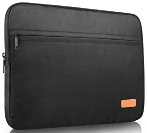 ProCase 13-13.3 Inch Laptop Tablet Sleeve Case Bag for 13 Inch Macbook Pro/Macbook Air, Surface Book Pro 5 4 3 2, Most 12-13 Inch Ultrabook MacBook Chromebook -Black