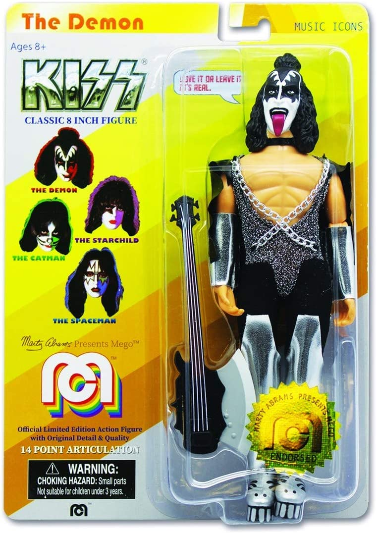 Kiss Action Figure Love Gun Spaceman 20 cm MEGO Figures