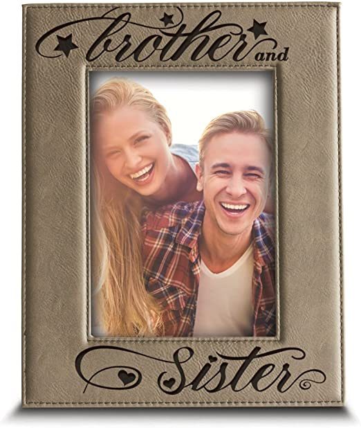 Little Brother Gifts for Boys Gift for Big Brothers Sibling Picture Frame Personalized Sibling Gift Picture Frame for Siblings