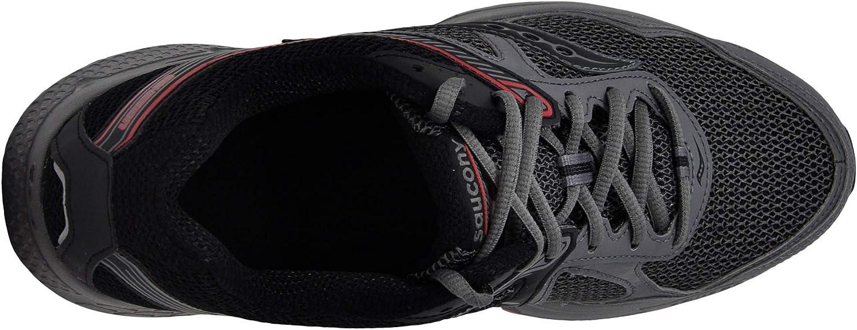 Saucony 25333-2, Scarpe Da Fitness Uomo Grigio Nero Rosso
