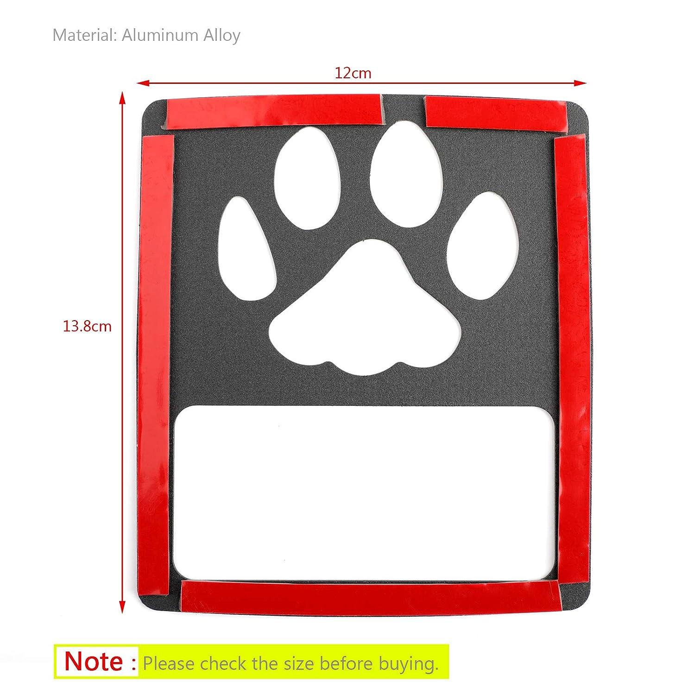 Yashikeji Tail Light Cover Guard Dog Paw Style accessori per Wrangler JL 2018