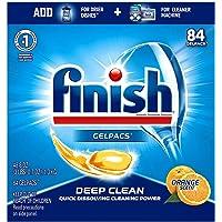 All in 1 Gelpacs Orange, Dishwasher Detergent Tablets 84 count .1 pack-Original (84 count)
