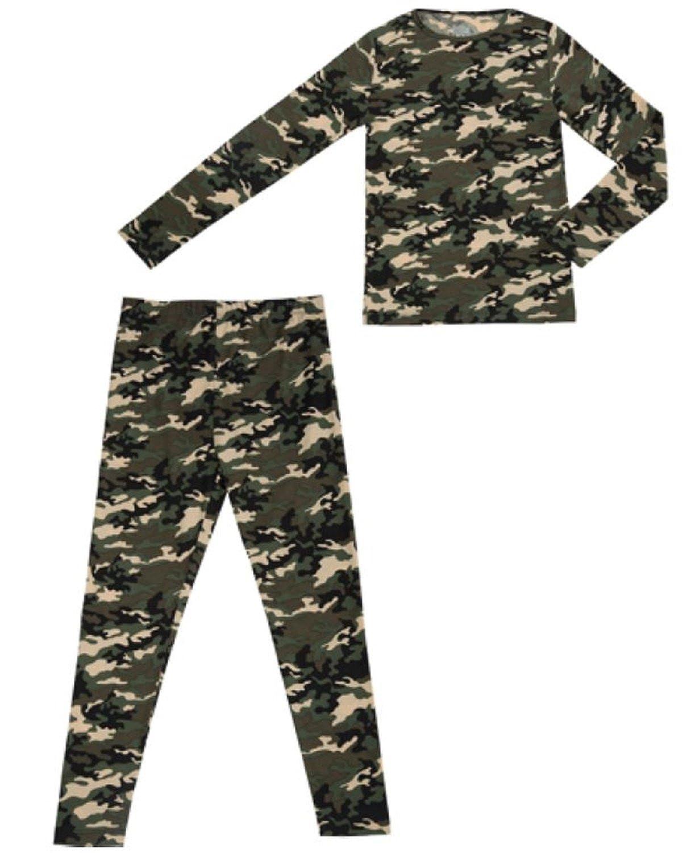 Weatherproof 32 Degrees Boy's Base Layer Thermal Shirt Long Underwear Set