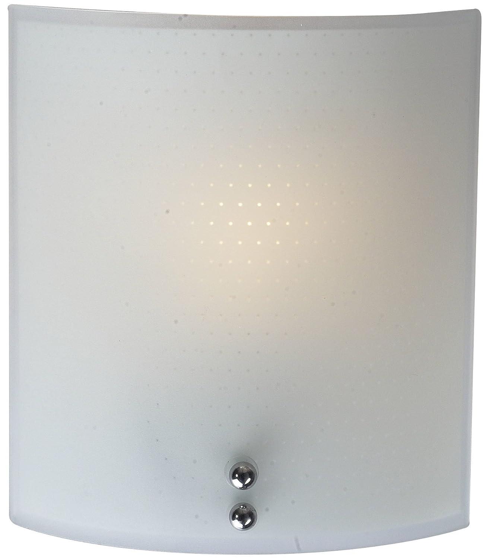Einfache Glas Wandleuchte mit E27 Fassung bis zu 60 Watt Wandlampe Leuchte Licht-Erlebnisse ES1/1/036