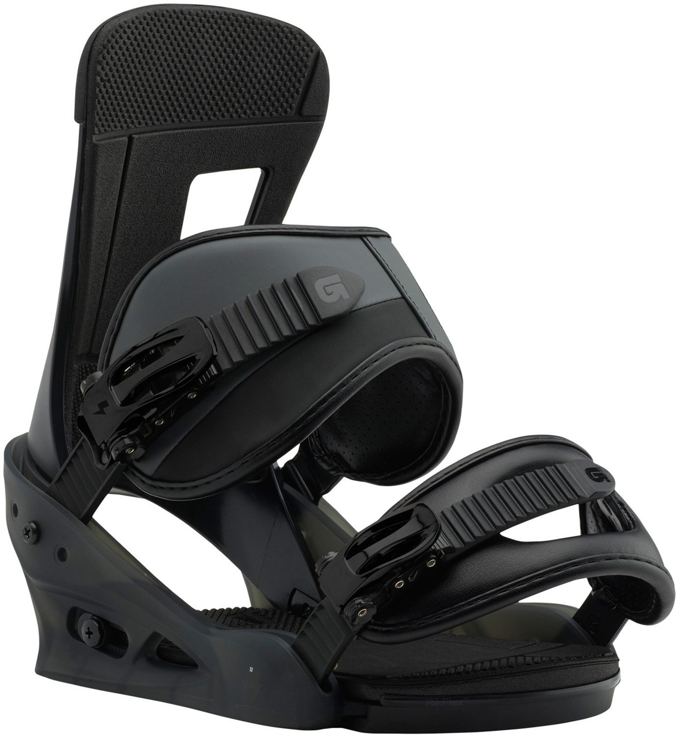 Burton Freestyle Snowboard Bindings Black Matte Sz S (6-8) by Burton