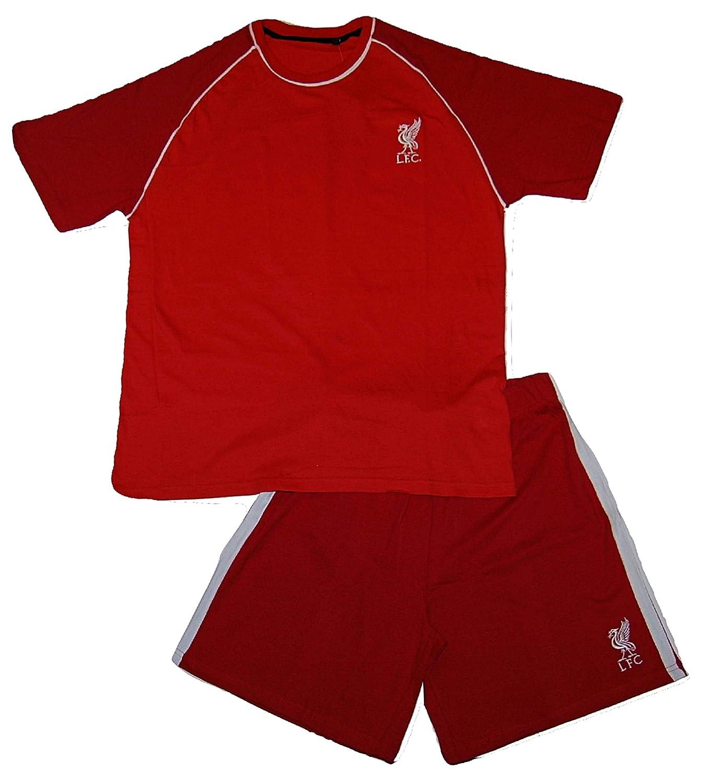 Mens Liverpool Football Club LFC Official Short Pyjamas