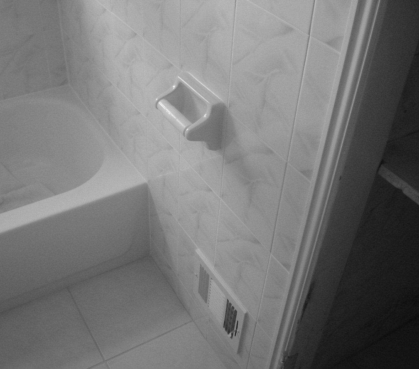 Daltile Bath Accessories toilet paper Holder Arctic White by Daltile