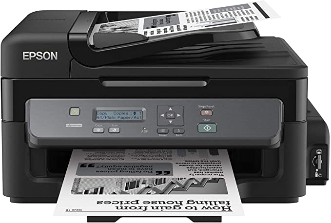Epson M200 All in One, Monochrome Ink Tank Printer