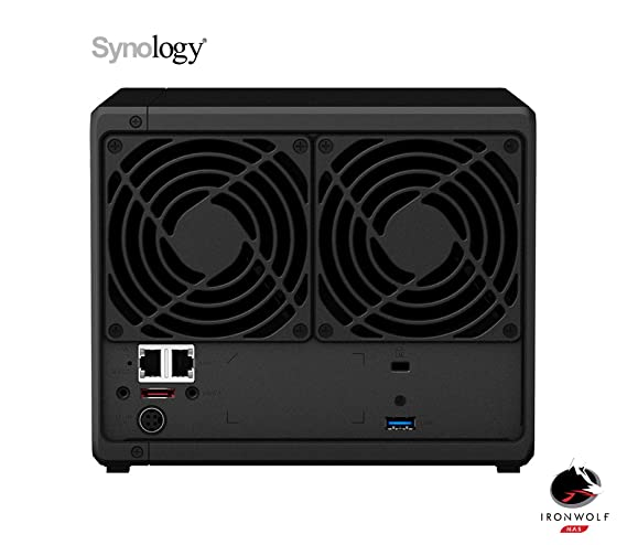Synology DS918+ 8GB NAS Negro 4To: Amazon.es: Informática