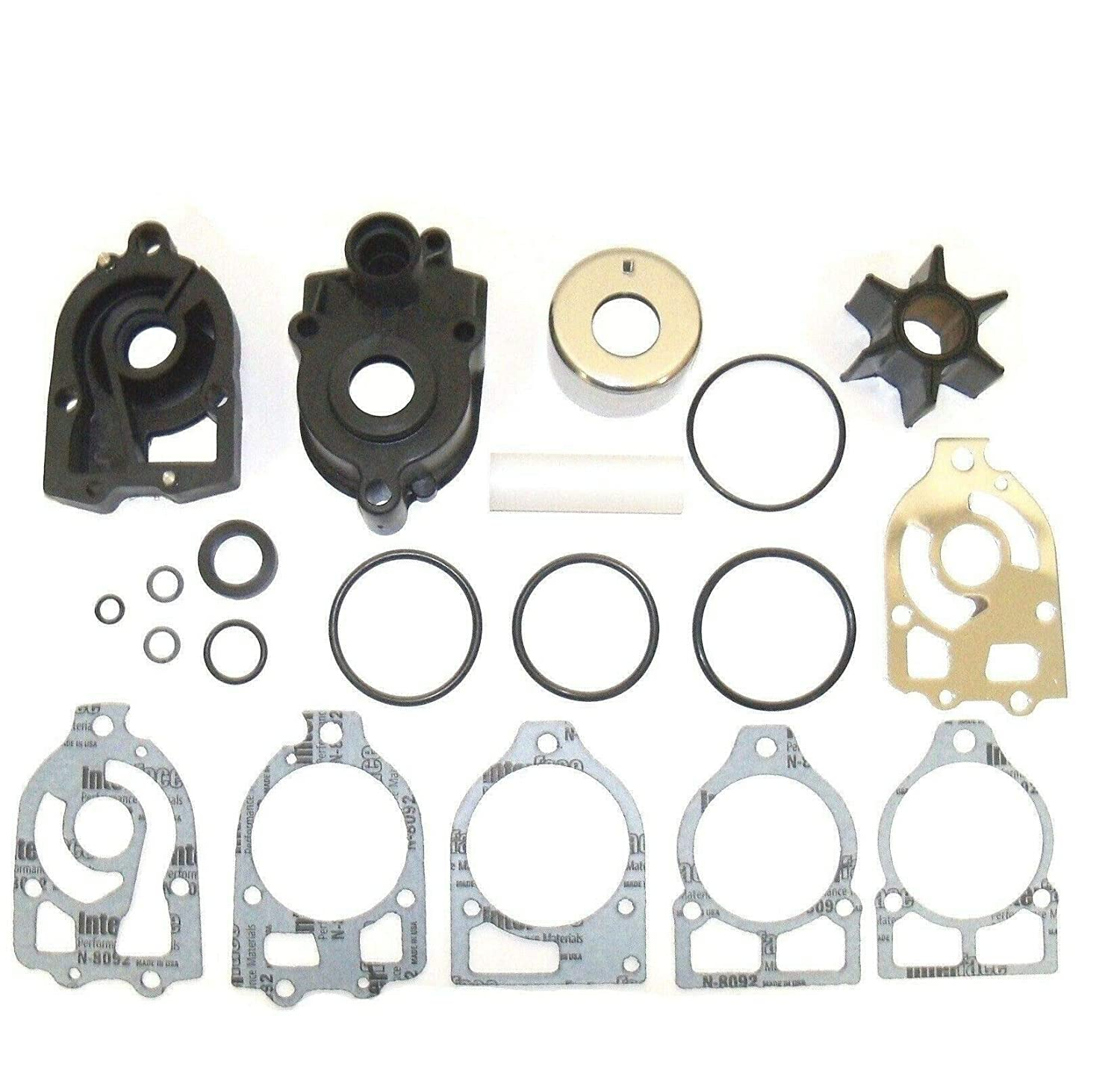 46-42579A4 EMP Water Pump Kit for Mercury V6 135 150 175 200 220 Hp V135 V150 V175 V200 V220 XR4 XR6 Replaces 18-3319 46-8M0077147