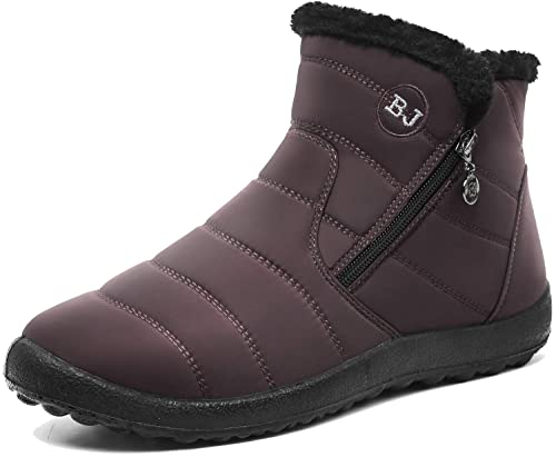 425787556bbc Image Unavailable. Image not available for. Color  JOINFREE Snow Boot for  Women Warm Waterproof Winter Shoes Anti-Slip ...
