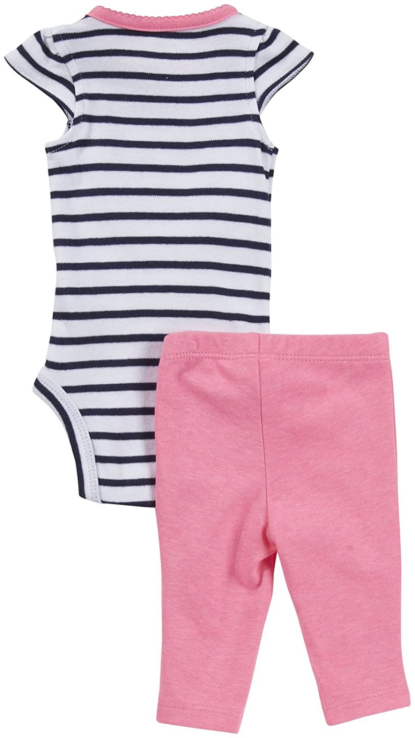 Crab-6 Months Baby Carters 2 Piece Striped Bodysuit and Pants