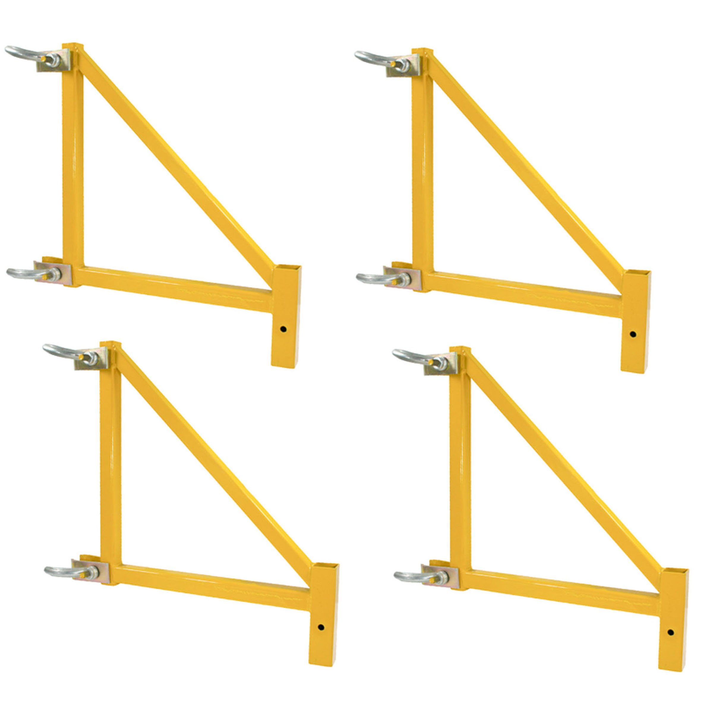 Buffalo Tools GSORSET Outrigger for GSSI Base Scaffolding Unit, 18-Inch, 4-Pack by Buffalo Tools